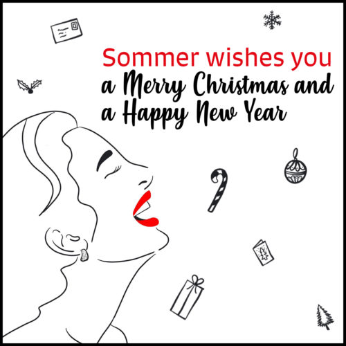 Sommer wishes you a merry christmas and a happy new year 2021